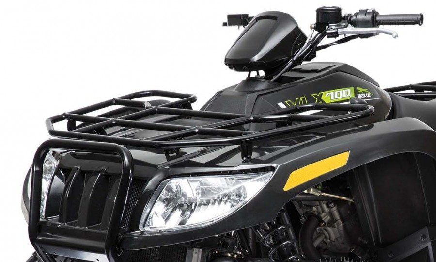 """The VLX appears to be well appointed for hard work. It features a 2"""" hitch receiver, allowing most users to take the hitch from their truck to their ATV.  Tubular steel racks, in our opinion, still set the standard for getting work done. The VLX racks are rated at 100 pounds front and 200 pounds rear.3"""
